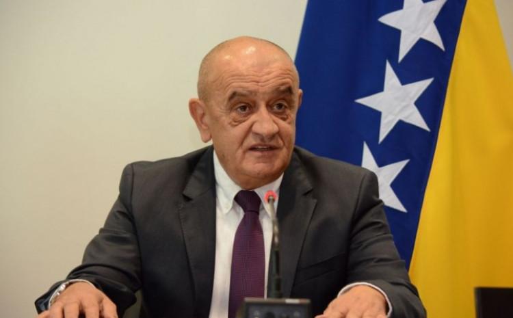 Ministar finansija i trezora Bosne i Hercegovine Vjekoslav Bevanda