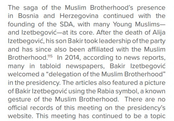 Transcript of the part of the report by NGO organization GLOBSEC