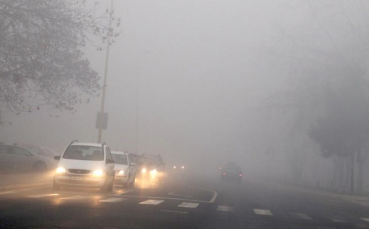 Magla na mnogim dionicama