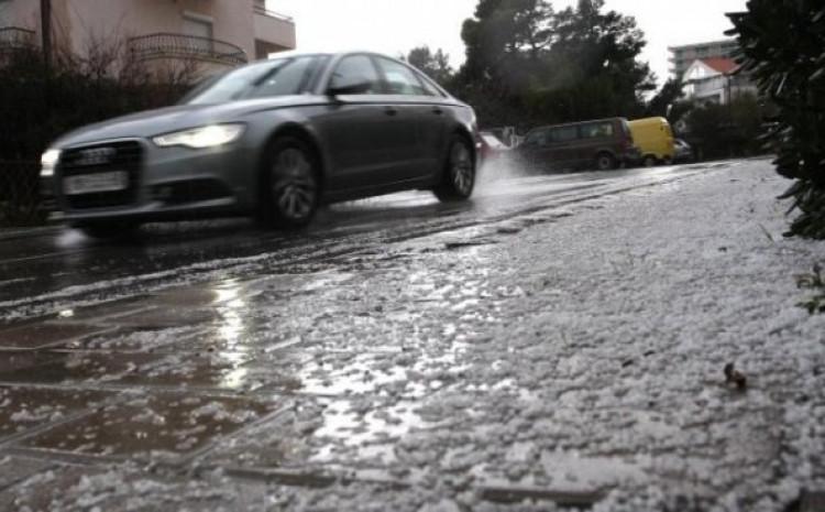Oprez zbog klizavih cesta