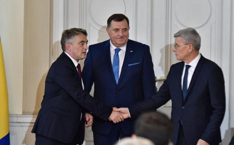 Komšić, Dodik i Džaferović