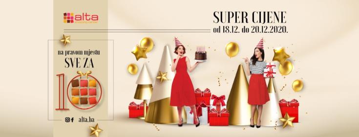 Alta Shopping Centar slavi 10. rođendan