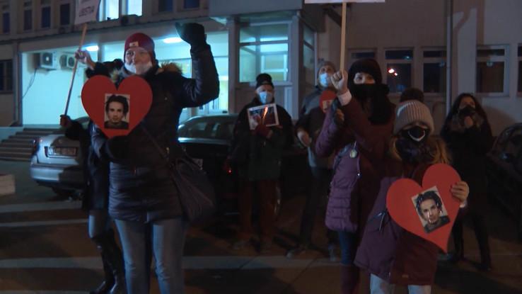 Članovi Pravde za Davida šetnju su organizvali uprkos zabrani MUP-a RS