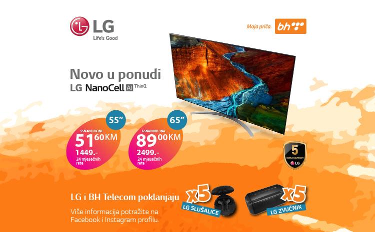 LG i BH Telecom poklanjaju
