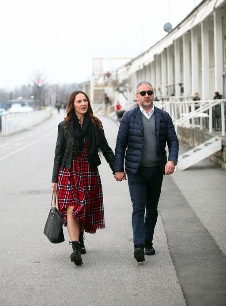 Aleksandra Radović i Srđan Stojanović