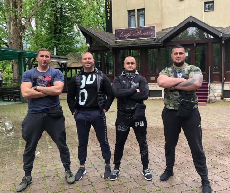 Uži krug Kabilovićevog klana prije hapšenja