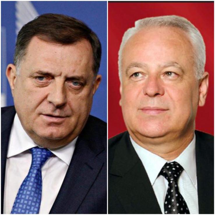 Dodik i Samardžija: Vraćena ikona