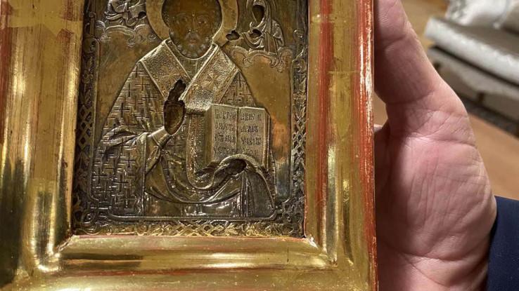 Ikona uručena Lavrovu 14.decembra