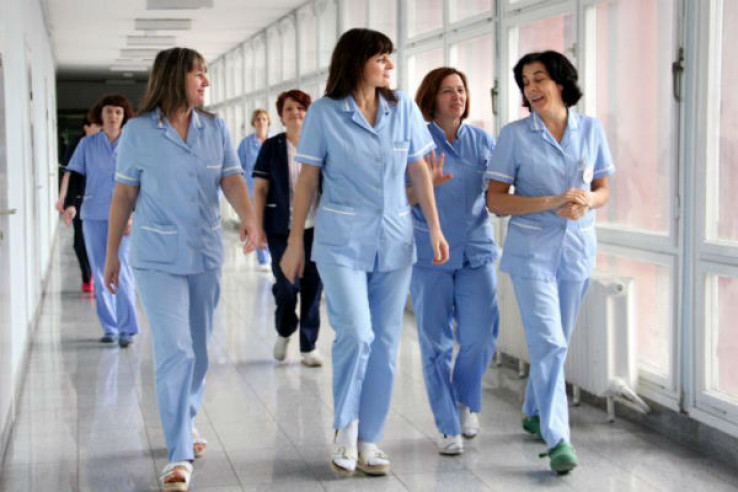 Medicinska sestra zarađuje 3.547 eura
