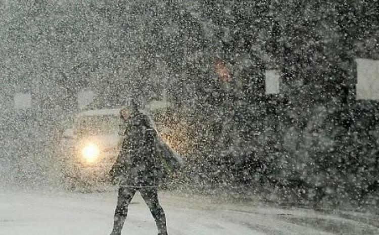 Snijeg donio probleme vozačima