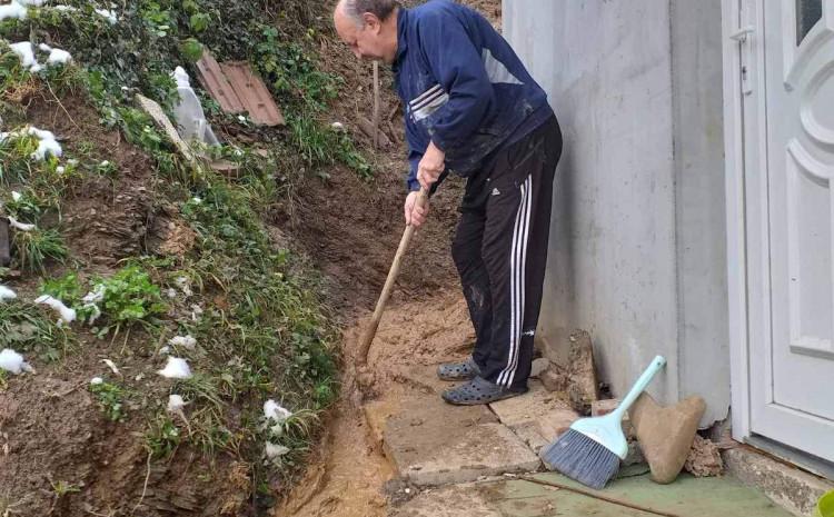 Obarčanin: Cilj je da spriječimo da blato uđe u kuću