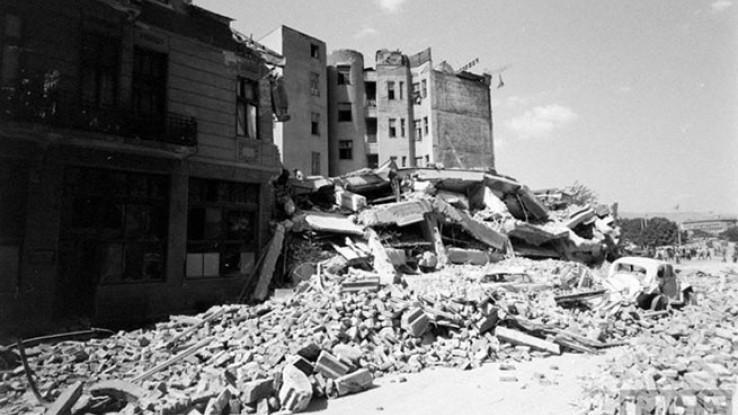 Skoplje sravljeno do temelja