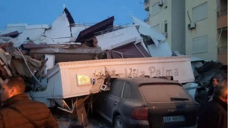 Neki hoteli na albanskoj obali srušeni do temelja