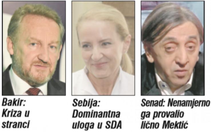 Bakir and Sebija Izetbegović and Senad Avdić
