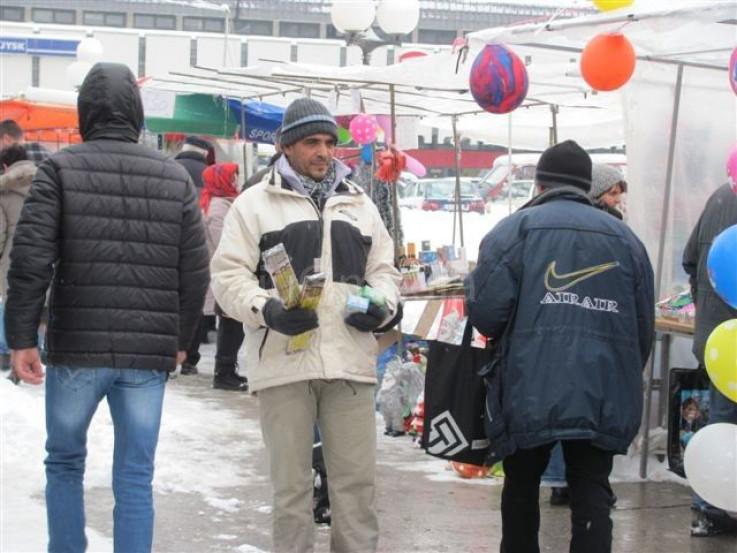 Nedozvoljena prodaja petardi na ulicama