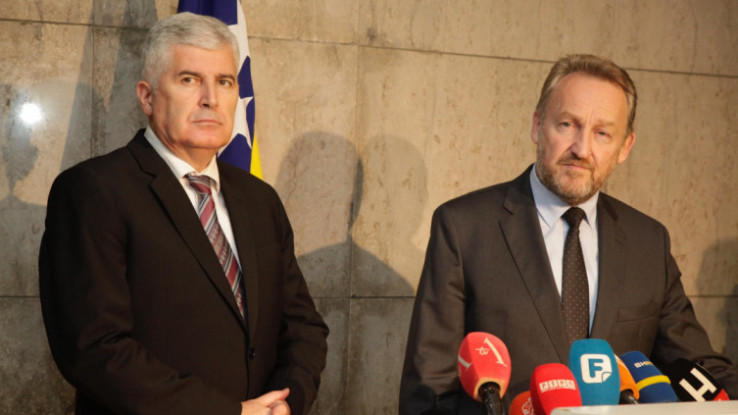Dragan Čović i Bakir Izetbegović