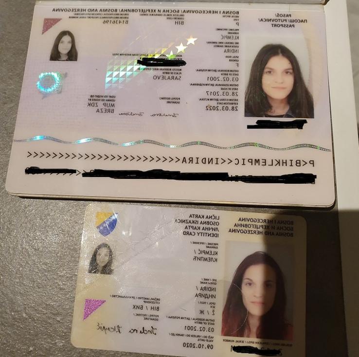 U mailu priložene fotografije dokumenata