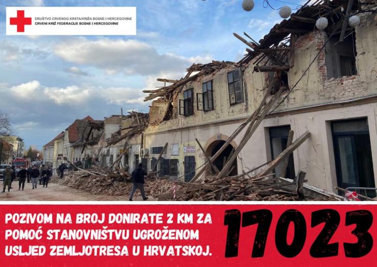 Pozivom na humanitarni broj 17023 doniraju se dvije KM