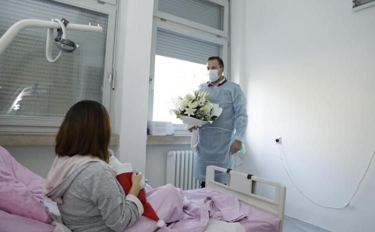 Abdulah Skaka u Općoj bolnici