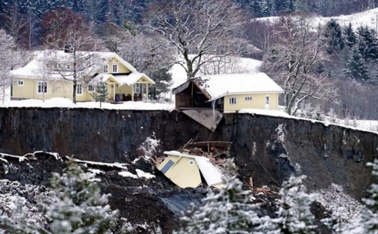 Klizište na jugu zemlje u srijedu je odnijelo dio stambene četvrti