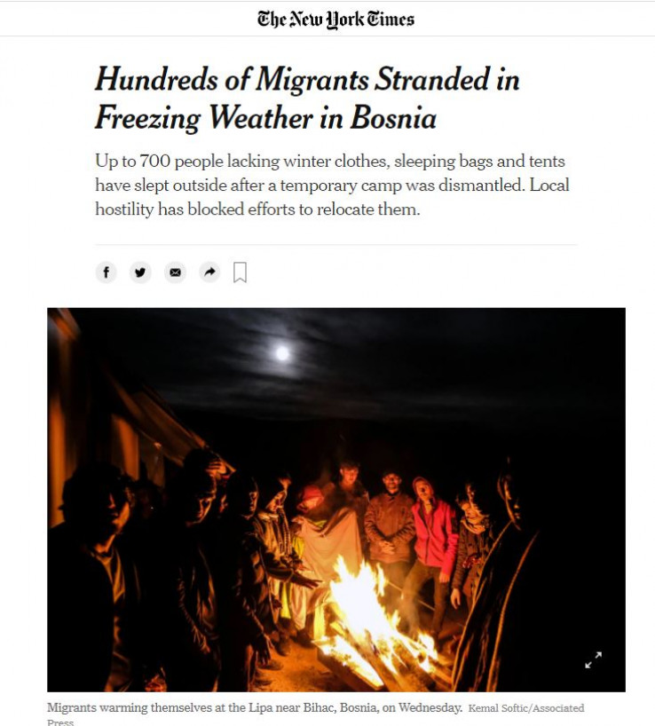 """""""The New York Times"""" dao značajan prostor ovoj temi"""