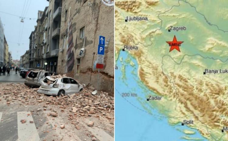 Prema prvim informacijama zemljotres je bio 4.5 po Rihteru