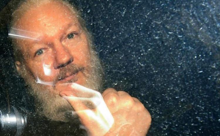 Assange has been in a London prison since April 2019.