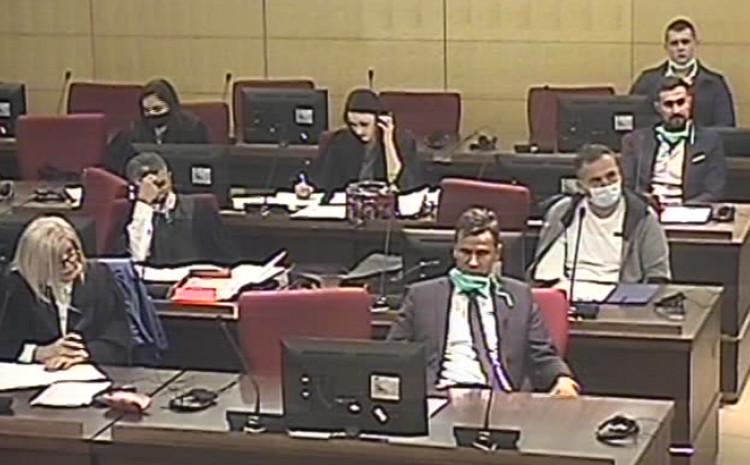 Novalić, Solak i Hodžić u sudnici