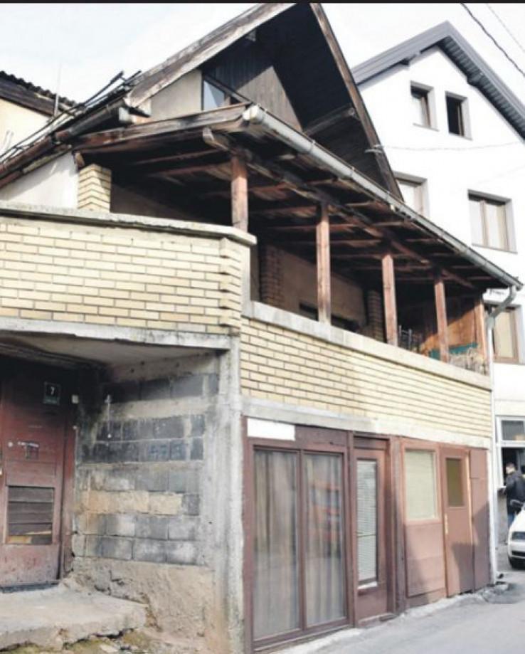 Kuća u kojoj su nastradali otac i sin