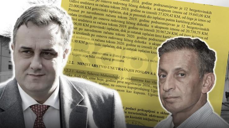 Asim Sarajlić i Osman Mehmedagić Osmica