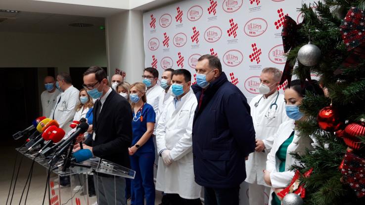 Dodik 16 dana bio u bolnici