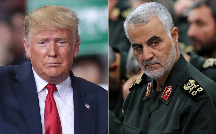 Donald Tramp i Kasem Sulejmani