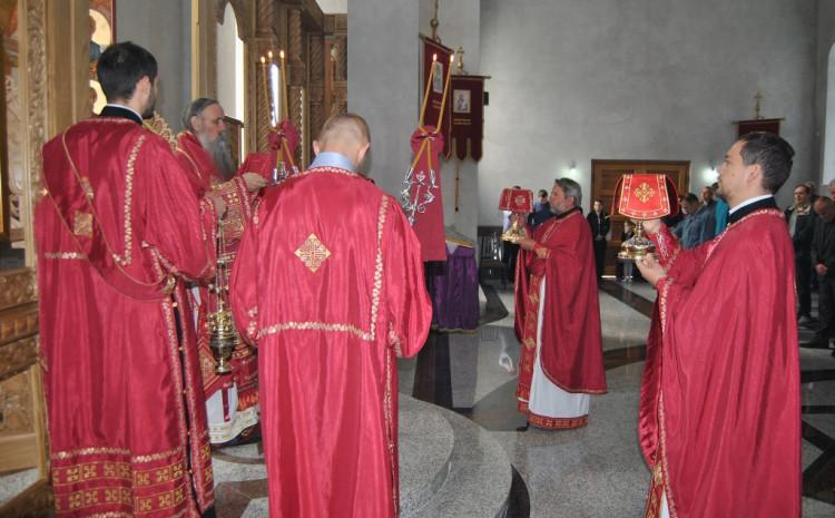 Liturgija održana u Sabornom hramu Rođenja Presvete Bogorodic