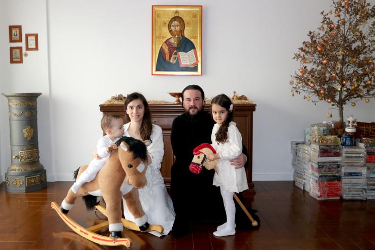 Branislav, Tamara, Hristina i Grigorije Rajković