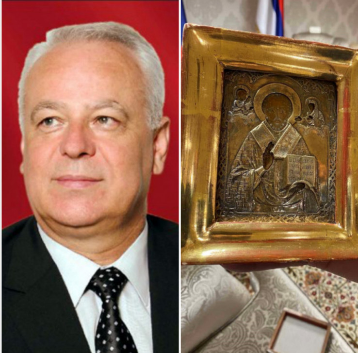 Samardžija: At the end of last year, he brought the icon to Sarajevo
