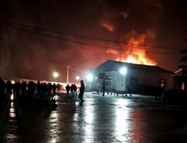 Požar u Blažuju