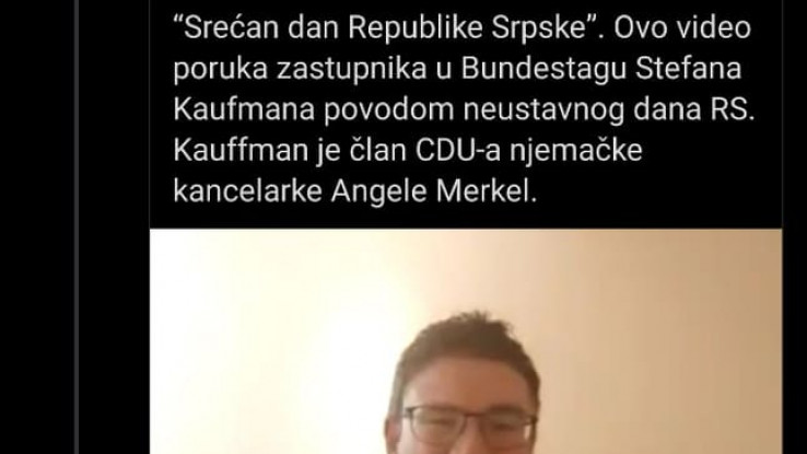 Stefan Kaufman tvit