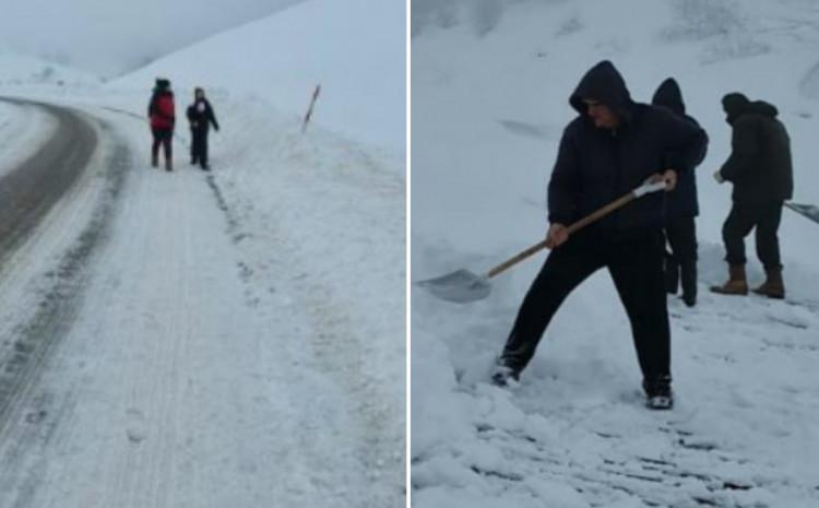 Snijeg u Trnovu