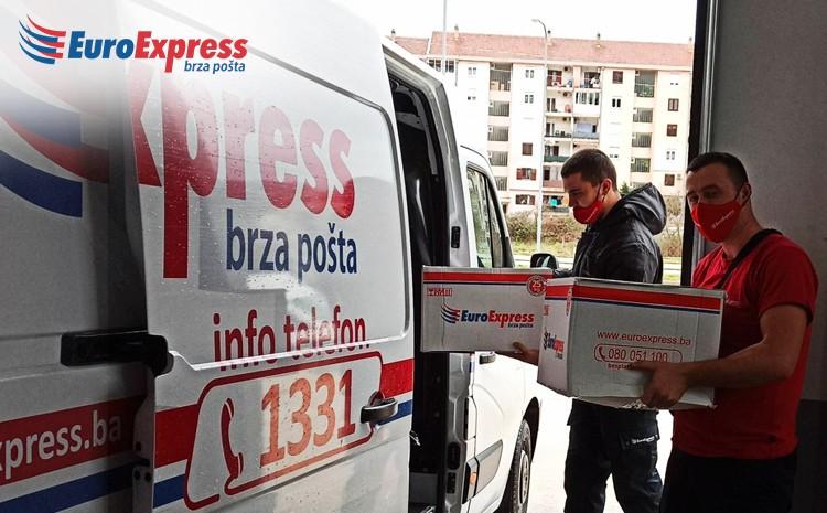 """Humanitarna akcija zaposlenih EuroExpress brze pošte """"Vrijeme je za darivanje"""""""