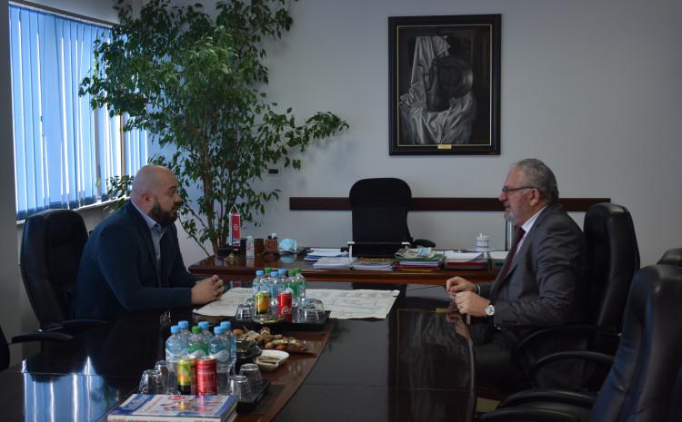 Posjeta je organizirana s ciljem da se ministar informira o uvjetima rada u vrijeme pandemije koronavirusa