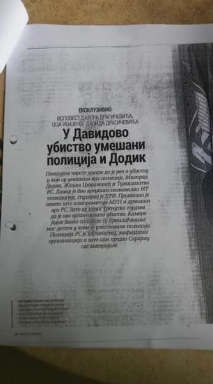 Dodik tužio Davora Dragičevića zbog klevete