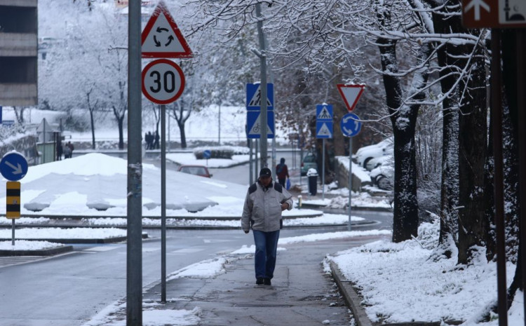 Minimalna temperature kretat će se od -5°C