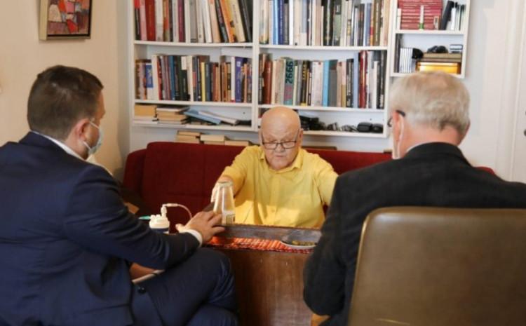 Skaka i Pejanović razgovarali sa Sidranom