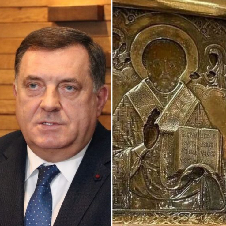 Dodik govorio o ikoni koju je poklonio ruskom ministru vanjskih poslova
