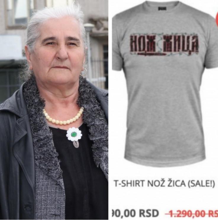 Subašić: Nadam se da će se zabraniti prodaja takvih majica