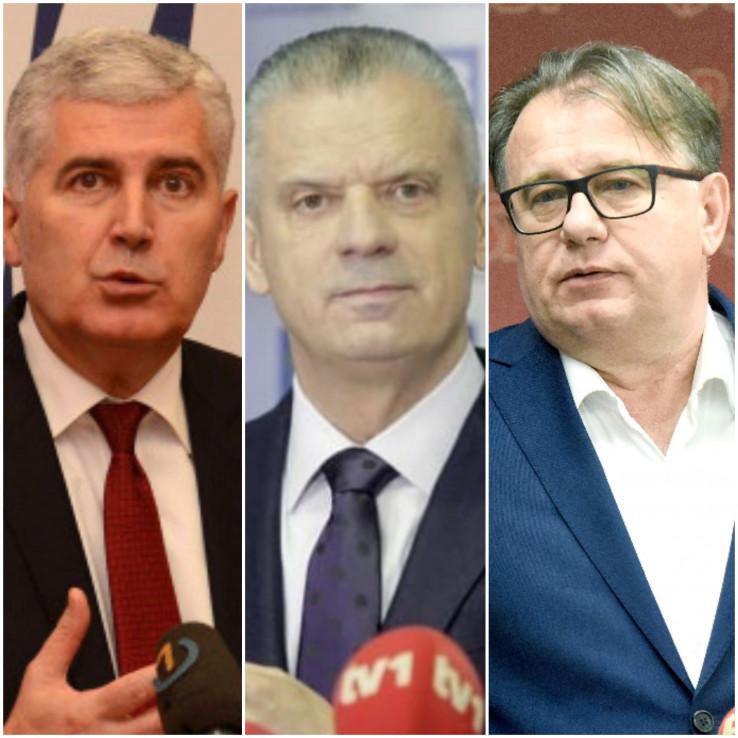 Čović, Radončić i Nikšić