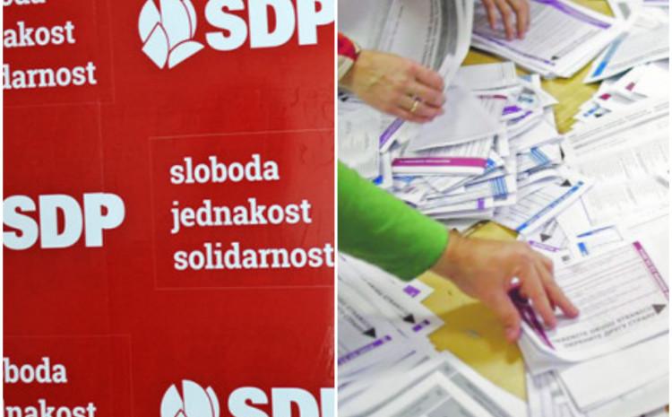 SDP: Provjeriti šta se tačno dogodilo na preostalih više od 130 biračkih mjesta