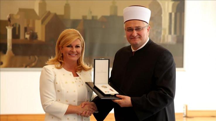 Odlikovanje Aziza ef. Hasanovića