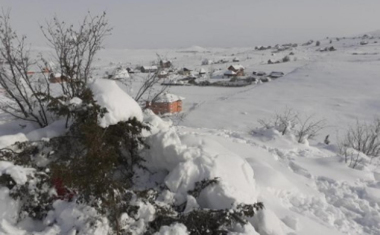 Selo Dolići u kojem se krio Enedin T.