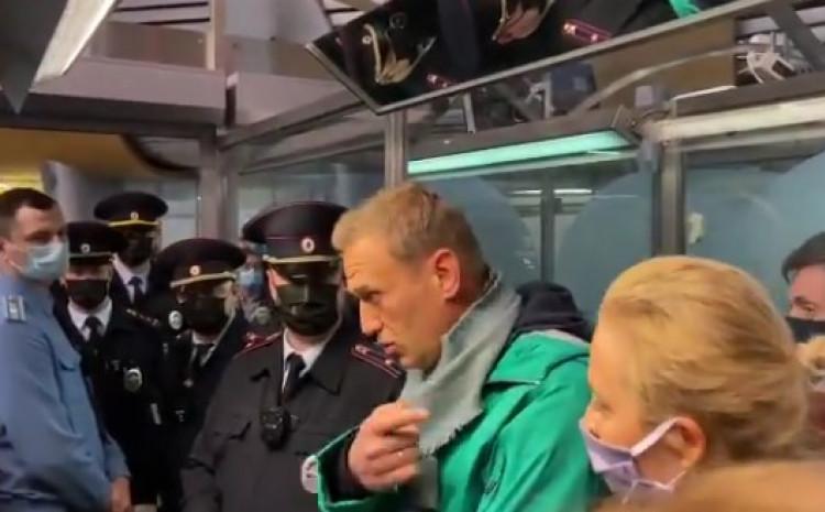 Navaljni u Moskvi